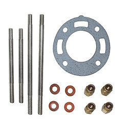 Exhaust Mount Kit Rise W/bolts Crusader 4 Open Early Style Cr-20-9772p