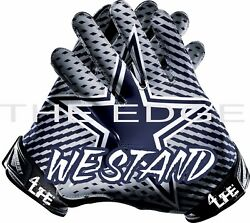 Dallas Cowboys We Stand 4life 6 Car Window Wall Vinyl Nfl Glove Stickers Decals