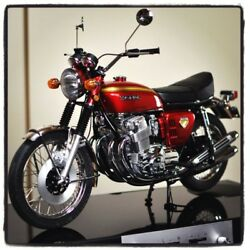 Deagostini Jp Honda Cb750 Four 1/4 Scale Unassemble Diecast Model Kit