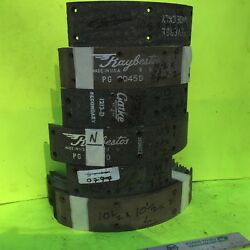 Ford Chrysler Gm Other Brake Lining. About 10 1/2 Inch Drum. Item 8334