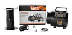 The Perfect Draft Bbq Blower Unit Grill Smoker Air Fan Controller Burner Airflow