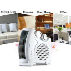 Electric Air Heater Warm Air Blower Mini Room Fan Electric Warmer For Office