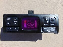 91-99 Mitsubishi 3000GT Stealth Digital Climate Control MB898523 Not Tested