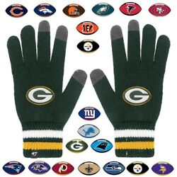 Officially Licensed Nfl Jumble Knit Gloves By '47 Brand 482576-j