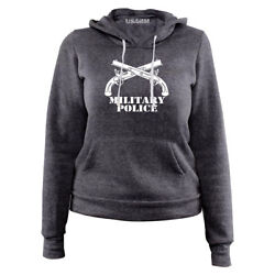 Ladies Army Military Police Branch Insignia Hoodie