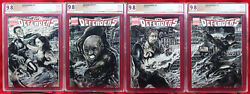 Netflix Defenders Pgx 9.8 Nm/mt Original 4 Cover Connected Sketch By Chad Knopf