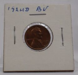 1924-d Lincoln Cent Bu