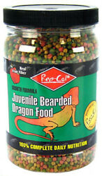 Rep-Cal Juvenile Bearded Dragon Food 100% Complete Daily Nutrition - 12 oz.