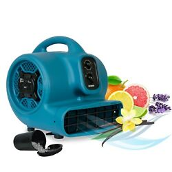 Xpower P-450at 2000 Cfm Freshen Aire Scented Air Mover Floor Fan Carpet Dryer