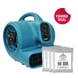 Xpower P-450at 2000 Cfm Scented Air Mover Carpet Dryer Fan+ 5 Scented Bead Packs