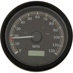 Drag Specialties 3-3/8 120mph Electronic Speedometer 1999-2003 Harley Fxd Xl