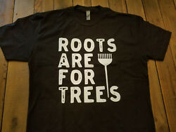 Hair Dresser Roots Are For Trees Black T-shirt S Ml Xl