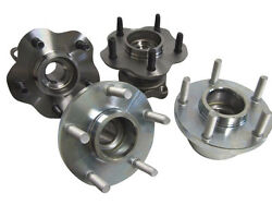 Isr Isis 5 Lug Conversion Hubs For 240sx 89-94 S13 Front And Rear Complete Set