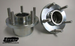 Isr Isis 5 Lug Front Conversion Hubs For Nissan 240sx 89-94 S13 Sold As A Pair