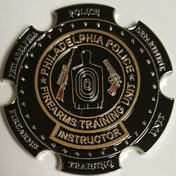 Ppd Philadelphia Police Department Firearms Training Unit Instructor Coin