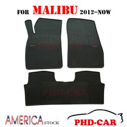 Tailor/custom Made All-weather Rubber Floor Mats For Chevrolet Malibu 2012-2017