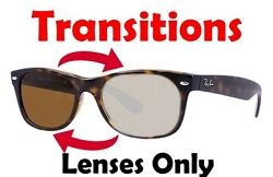 TRANSITIONS BROWN RB 5184 Anti Glare Replacement Lens Ray Ban 50mm 52mm 54mm