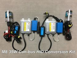 LOW BEAMS 35W H7 SLIM XENON HID KIT M81 NO CANBUS ERROR FOR TOYOTA CADILLAC JA