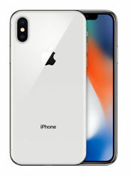 Apple Iphone X - 256gb - Silver T-mobile Smartphone