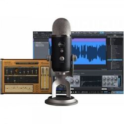 BLUE YETI PRO STUDIO PACK USB Mic Software & Cables Recording System