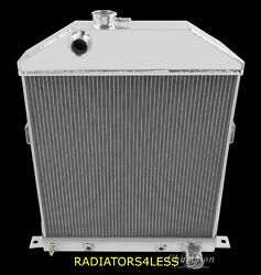 Champion 3 Row Aluminum Radiator 42 43 44 45 46 47 48 Ford Coupe Cars Chevy Eng