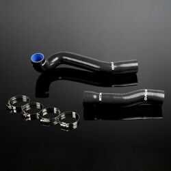 Silicone Radiator Hose Pipe For Bmw E46 M3/330/328/325 1999-2006 01 02 05 Black