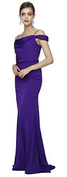 NEW SIMPLE YET GORGEOUS PROM EVENING DRESS COLD SHOULDER BRIDESMAID FORMAL GOWN