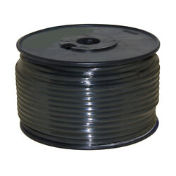 Wire 12 Awg Black 100ft Roll Ul Fine Strand Tinned Copper