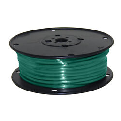 Wire 10 Awg Green 100ft Roll Ul Fine Strand Tinned Copper