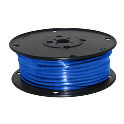 Wire 10 Awg Blue 100ft Roll Ul Fine Strand Tinned Copper