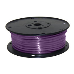 Wire 10 Awg Violet 100ft Roll Ul Fine Strand Tinned Copper