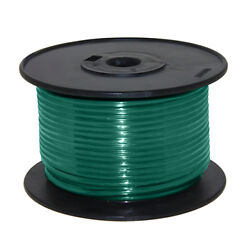 Wire 16 Awg Green 100ft Roll Ul Fine Strand Tinned Copper