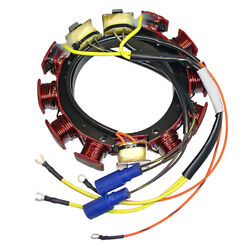 Stator 35 Amp 6/8cyls Johnson/evinrude 185-300hp 1986-1992 Loopers