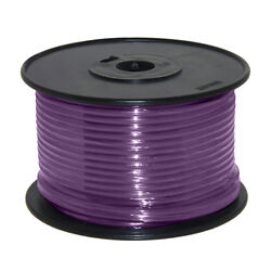 Wire 14 Awg Violet 100ft Roll Ul Fine Strand Tinned Copper