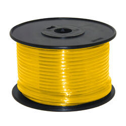Wire 14 Awg Yellow 100ft Roll Ul Fine Strand Tinned Copper
