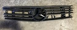 Mercedes Benz R129 300SL SL 320 500 600 OEM 6 Rib Gold Front Grill Assembly