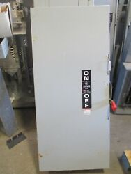 Ge Th3326, Model 11, 600 Amp, 240 Volt, 3p, 3w, Fusible Disconnect - New-s