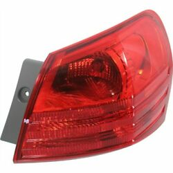New Passenger Side Tail Light Red Lens For Rogue Select 2014-2015