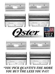 Replacement Blade Set For Oster/stewart Clipmaster Clip Master Clipper 83au/84au