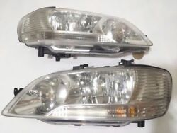 JDM Mitsubishi Lancer Cedia GDI CS2A CS5W Headlights Headlamps Head Light Lamps