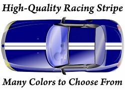High-quality Vinyl Double Racing Stripe Decal -many Colors And Sizes Available-