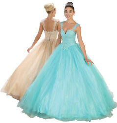SALE ! MARINE CORPS BALL GOWNS CINDERELLA QUINCEANERA DRESS FORMAL SWEET 16 PROM $164.99