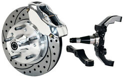 Wilwood Disc Brake Kit,front,w/wwe 2 Drop Prospindles,11 Drilled,pol. Calipers