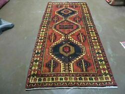 3and039 4x 7and039 Antique Hand Made Turkish Wool Rug Organic 101