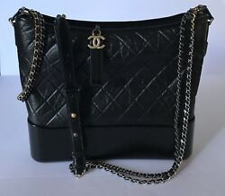 NWT CHANEL GABRIELLE HOBO LARGE BAG SOLD OUT RETAIL $4400 Plus Tax