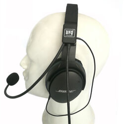 Ufq Av Mike-2 Aviation Headset Microphone Suit For Bose Qc25qc35 Good Quality