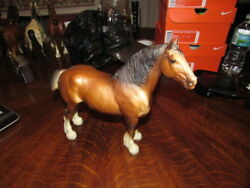 #83 BREYER CLYDESDALE MARE REALLY NICE SHAPE VINTAGE