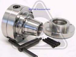 Bostar 5c Collet Lathe Chuck With Semi-finished Adp. 1-3/4 X 8 Thread.