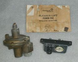 United Delco Pleasur-lift Power Pac Air Shock Compressor Kit Vintage 60and039s