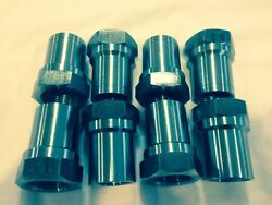 Set Of 81.25-12 Weld On Tube Adapter Hex 4 Rh And 4 Lh Off Road 4 Link Bung